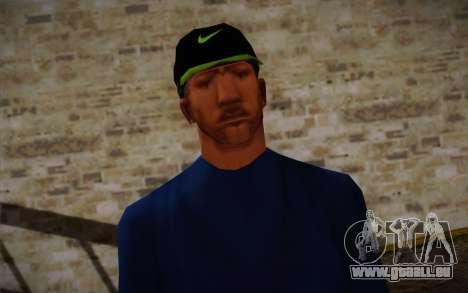 Ginos Ped 43 pour GTA San Andreas troisième écran