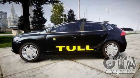 Volvo V40 Swedish TULL [ELS] pour GTA 4 est une gauche