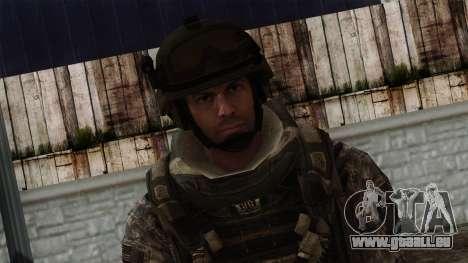 Modern Warfare 2 Skin 7 pour GTA San Andreas troisième écran
