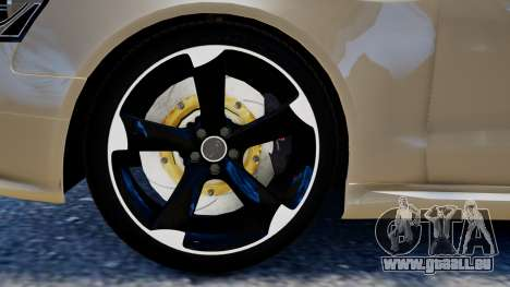 Audi RS4 B8 2013 v1 pour GTA 4 Vue arrière de la gauche