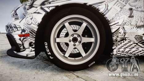 Ford Mustang Shelby GT500 2013 Sharpie pour GTA 4 Vue arrière