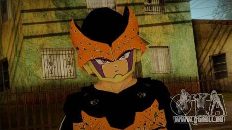 Cell Junior Skin pour GTA San Andreas troisième écran