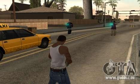 Türkis effects für GTA San Andreas zweiten Screenshot