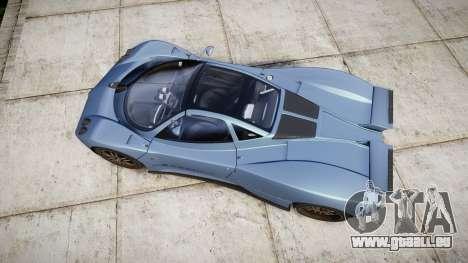 Pagani Zonda C12 S 7.3 2002 PJ1 pour GTA 4 est un droit