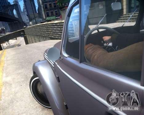 Moskwitsch 400 für GTA 4 Seitenansicht