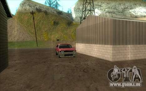 Straße garage von Siega für GTA San Andreas her Screenshot