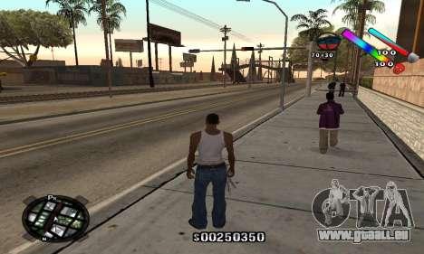 C-HUD Classic für GTA San Andreas