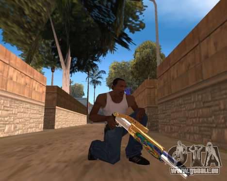 Graffity Weapons für GTA San Andreas