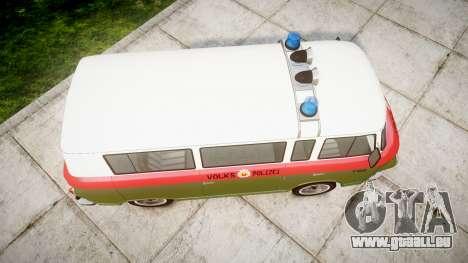 Barkas B1000 1961 Police pour GTA 4 est un droit