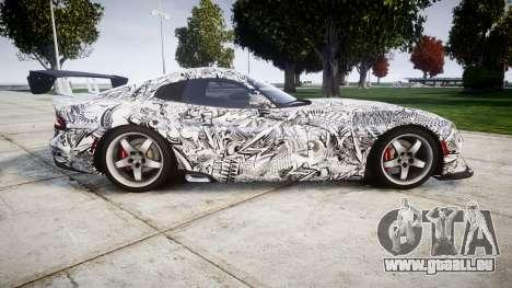 Dodge Viper SRT GTS 2013 Sharpie pour GTA 4 est une gauche