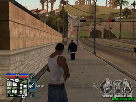 C-HUD by SampHack v.4 für GTA San Andreas