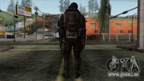 Modern Warfare 2 Skin 14 pour GTA San Andreas deuxième écran