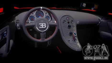 Bugatti Veyron 16.4 SS [EPM] Halloween Special pour GTA 4 est une vue de l'intérieur