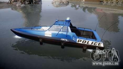 GTA V Police Predator für GTA 4 linke Ansicht