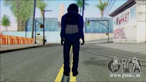 Chinese Pilot from Battlefiled 4 pour GTA San Andreas deuxième écran