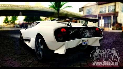 GTA 5 Pegassi Infernus pour GTA San Andreas laissé vue