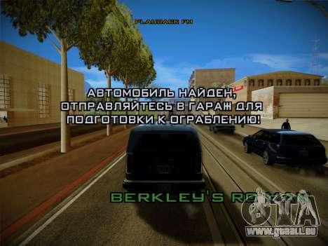 Système vols v4.0 pour GTA San Andreas septième écran