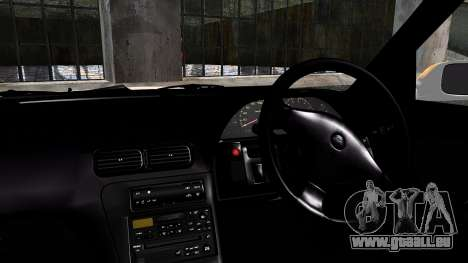 Nissan Silvia S13 Camber Style pour GTA San Andreas sur la vue arrière gauche