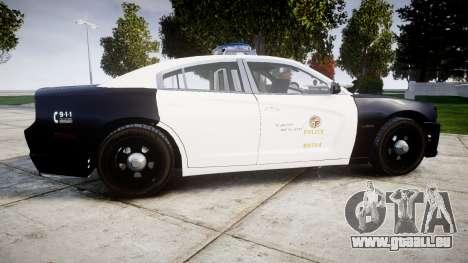 Dodge Charger 2013 LAPD [ELS] pour GTA 4 est une gauche