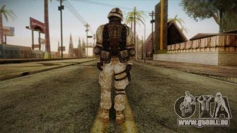 Army Skin 1 für GTA San Andreas zweiten Screenshot