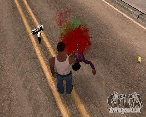 Freaky-Effekte für GTA San Andreas dritten Screenshot
