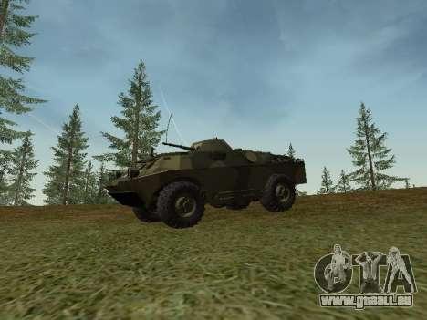 BRDM 2 pour GTA San Andreas laissé vue