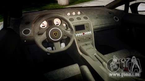 Lamborghini Gallardo LP570-4 Superleggera 2011 S für GTA 4 Innenansicht
