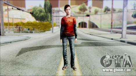 Ellie from The Last Of Us v1 pour GTA San Andreas
