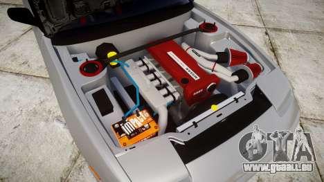 Nissan 240SX SE S13 1993 pour GTA 4 est une vue de l'intérieur