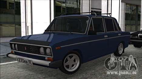ВАЗ 2106 à la russe 2.0 pour GTA San Andreas laissé vue