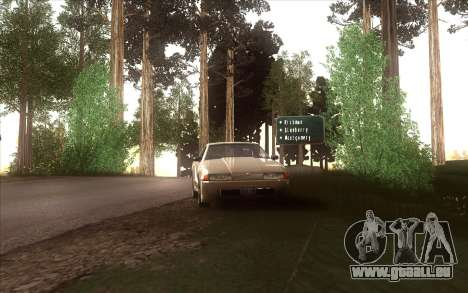 La relance du village Dillimore pour GTA San Andreas dixième écran