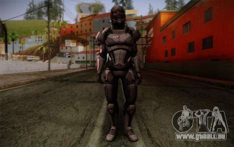 Shepard Default N7 from Mass Effect 3 für GTA San Andreas