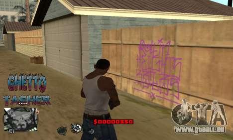 C-HUD Ghetto Tawer pour GTA San Andreas quatrième écran