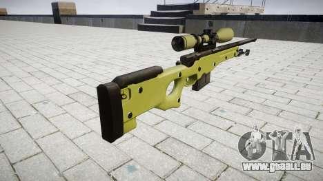 AWP Sniper rifle für GTA 4 Sekunden Bildschirm