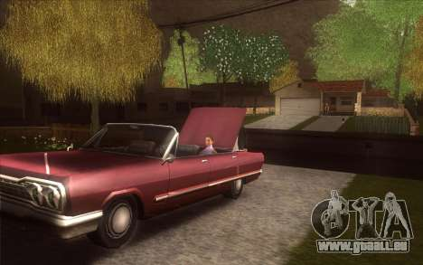 La relance du village Dillimore pour GTA San Andreas sixième écran