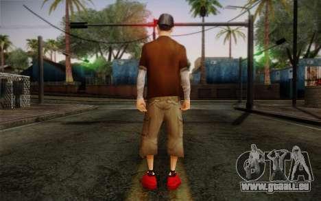 Ginos Ped 22 pour GTA San Andreas deuxième écran