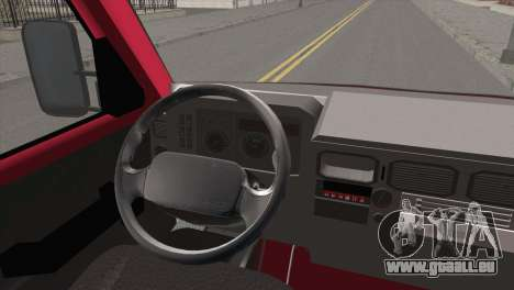 Iveco Daily 35 P pour GTA San Andreas sur la vue arrière gauche