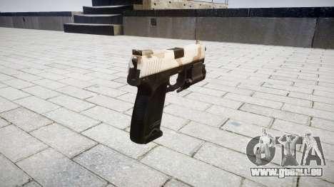 Tag HK USP 45 sahara für GTA 4 Sekunden Bildschirm