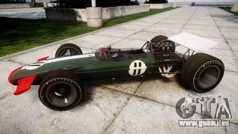 Lotus Type 49 1967 [RIV] PJ11-12 pour GTA 4 est une gauche