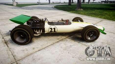 Lotus Type 49 1967 [RIV] PJ21-22 für GTA 4 linke Ansicht