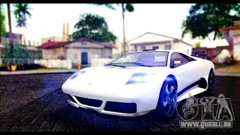 GTA 5 Pegassi Infernus für GTA San Andreas