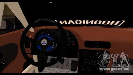 Nissan Silvia S13 Fail Crew v2 für GTA San Andreas zurück linke Ansicht