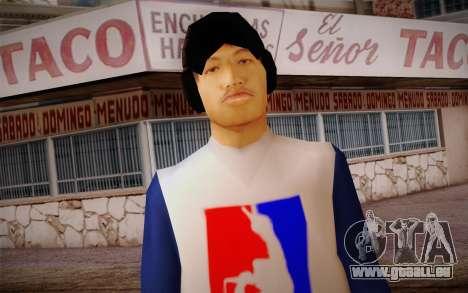 Ginos Ped 17 für GTA San Andreas dritten Screenshot
