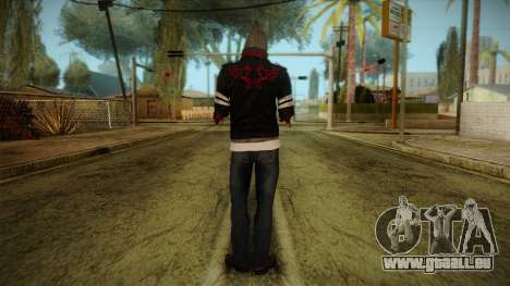 Alex Cutted Arms from Prototype 2 für GTA San Andreas zweiten Screenshot