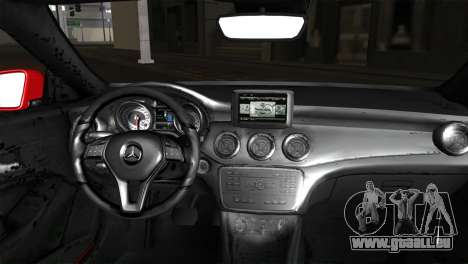 Mercedes-Benz CLA 250 2014 pour GTA San Andreas sur la vue arrière gauche