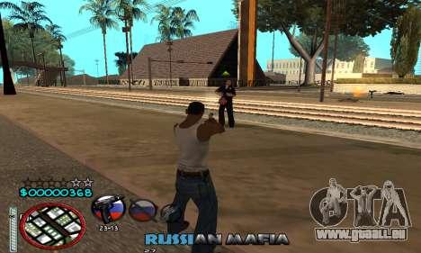 C-HUD Russian Mafia pour GTA San Andreas quatrième écran