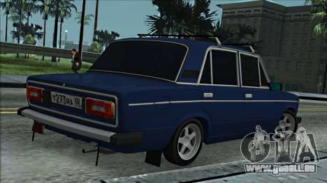 ВАЗ 2106 à la russe 2.0 pour GTA San Andreas vue de droite