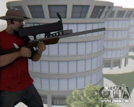 TF2 Sniper Rifle pour GTA San Andreas troisième écran