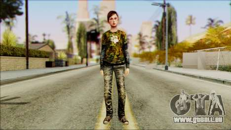 Ellie from The Last Of Us v2 pour GTA San Andreas