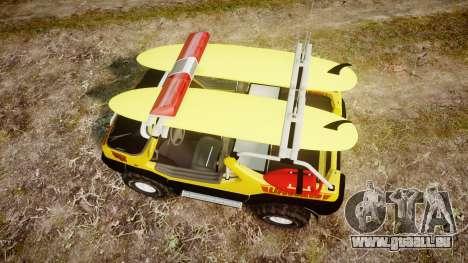 Ford Intruder Lifeguard Beach [ELS] pour GTA 4 est un droit